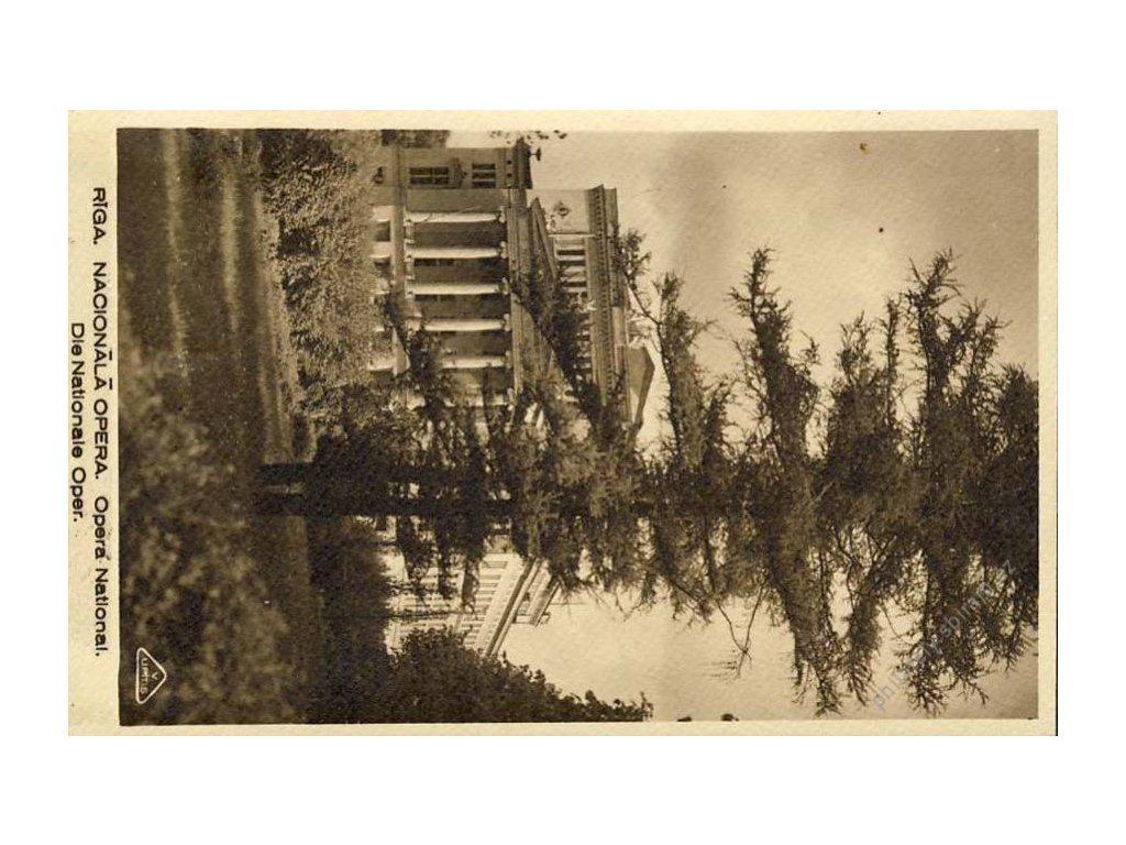Latvija, 1932, DR Riga, pohlednice zasl. do Prahy