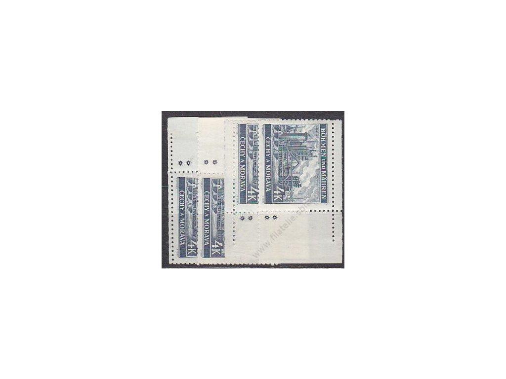 4K Ostrava, roh. miniatura, 2 hvězdičky, Nr.37, **