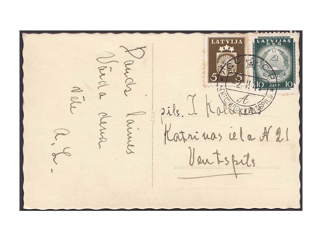 Latvija, 1941, DR Ventspils, pohlednice