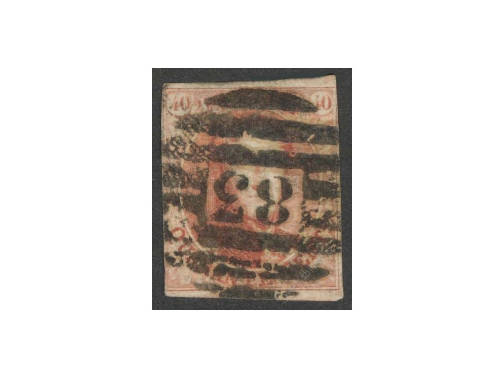 1851, 40C Leopold, MiNr.5, razítkované