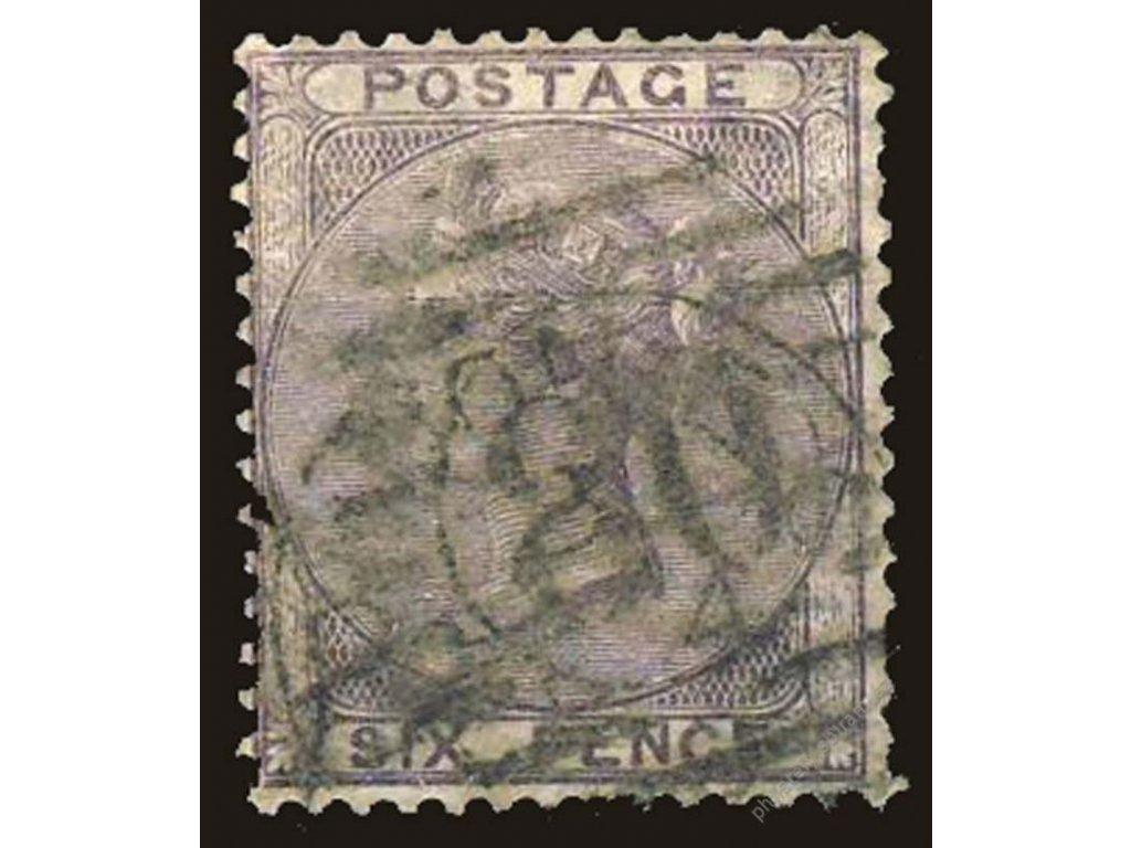1856, 6P Viktoria, MiNr.14, razítkované