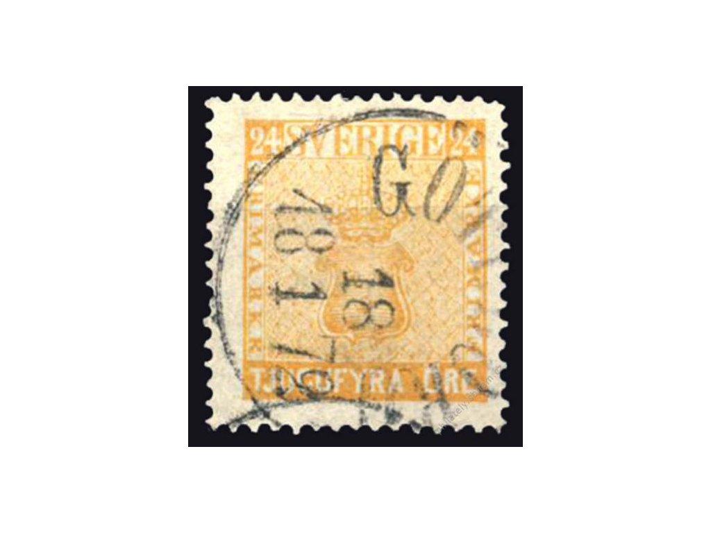 1858, 24Ö Znak, MiNr.10, razítkované