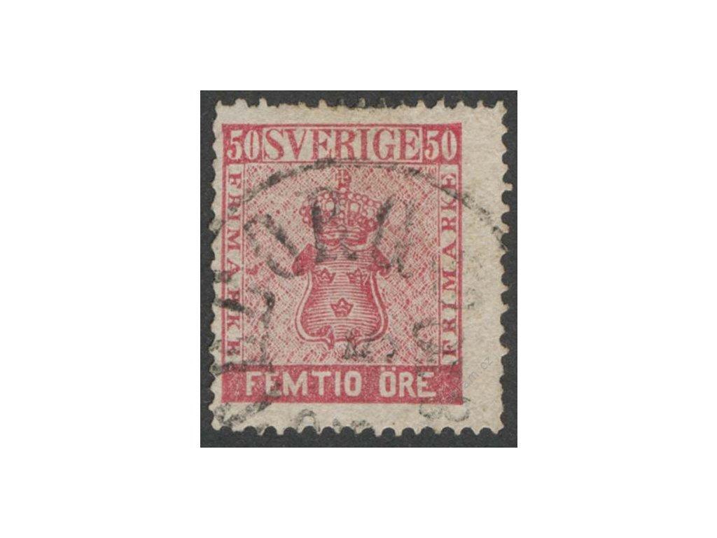 1858, 50Ö Znak, MiNr.12, razítkované