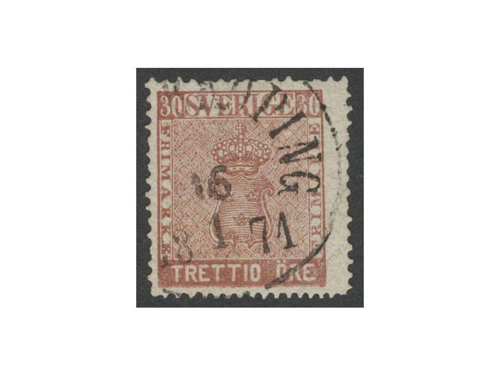 1858, 30Ö Znak, MiNr.11, razítkované