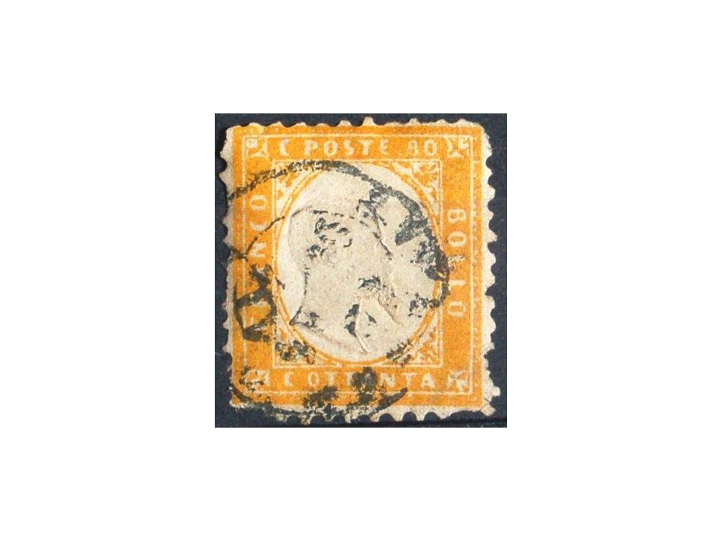 1862, 80C Emanuel, MiNr.12, razítkované