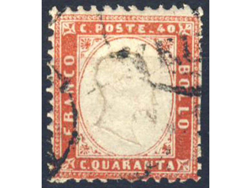 1862, 40C Emanuel, Mi.140Euro, MiNr.11, razítko