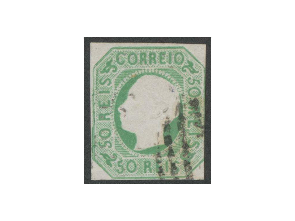 1862, 50R Luis, MiNr.15, razítkované