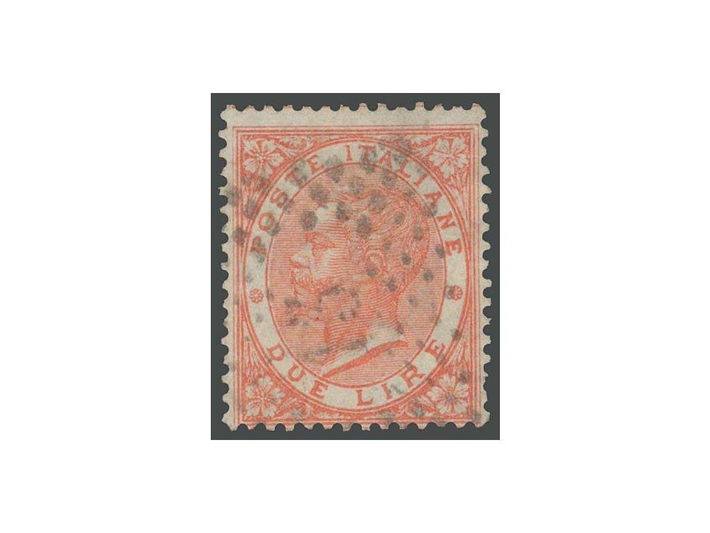 1863, 2L Emanuel, MiNr.22, razítkované