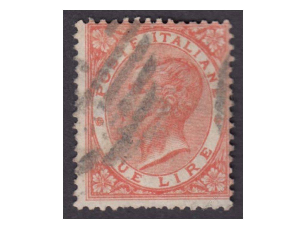 1863, 2L Emanuel, MiNr.22, razítkované, kzy
