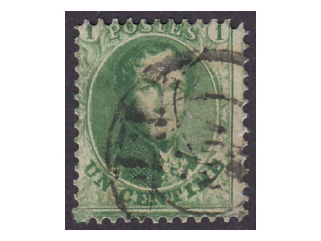 1863, 1C Leopold, MiNr.10A, razítkované