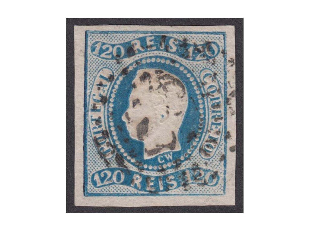 1866, 120R Luis, MiNr.24, razítkované