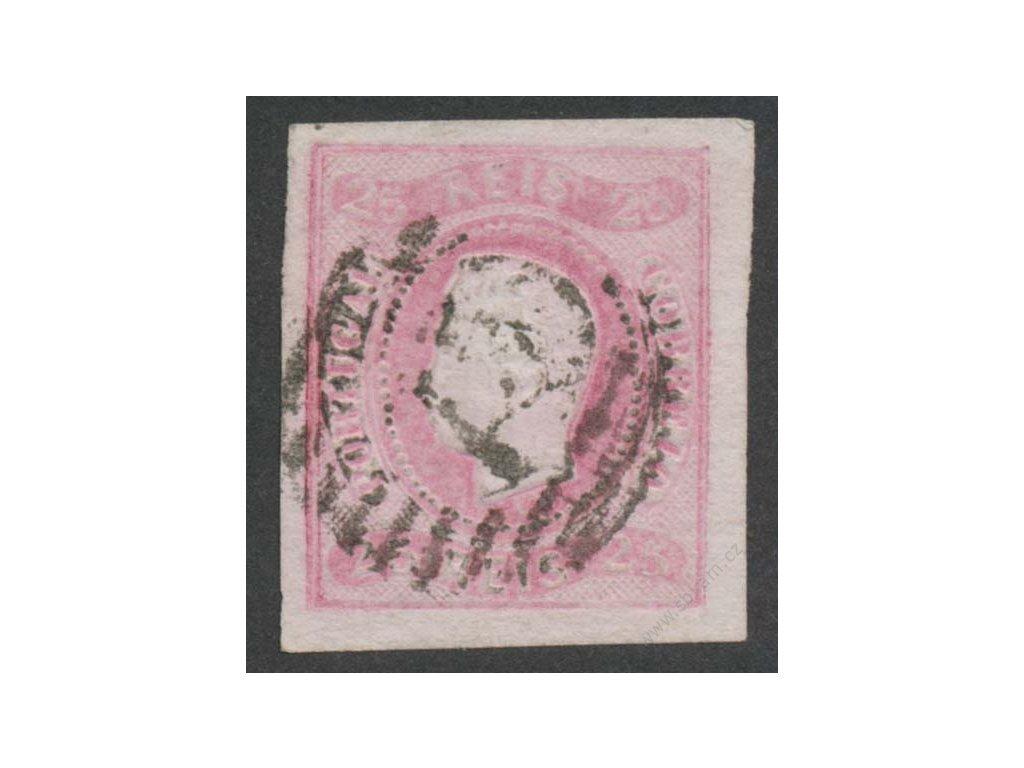 1866, 25R Luis, MiNr.20, razítkované