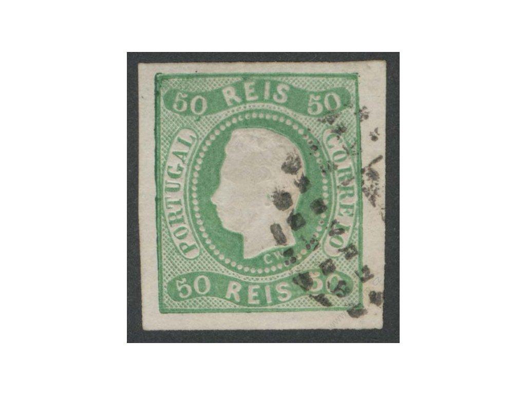 1866, 50R Luis, MiNr.21, razítkované