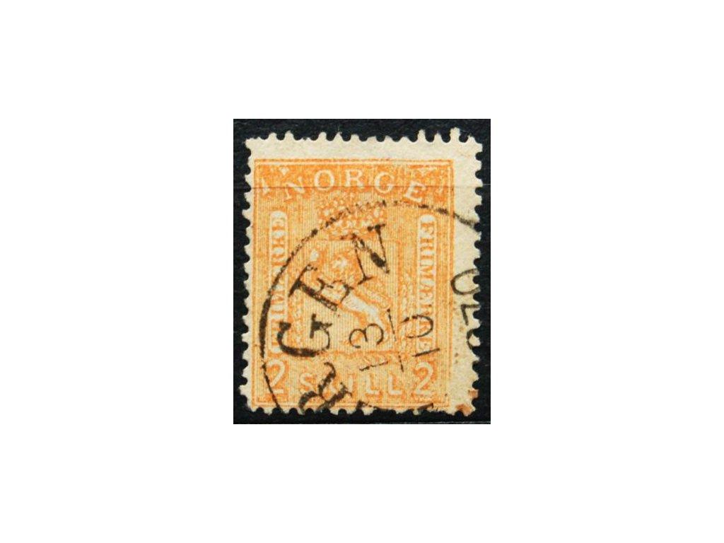 1867, 2Sk Znak, MiNr.12, razítkovaná