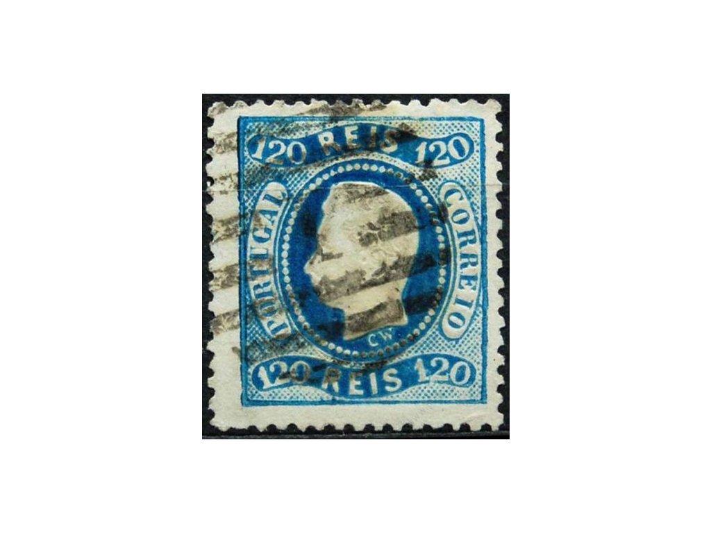 1867, 120R Luis, krátké zoubky, razítkovaná