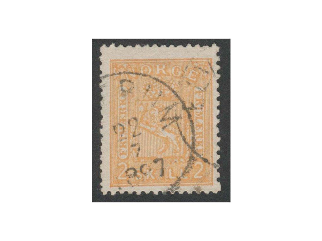 1867, 2Sk Znak, MiNr.12, razítkované