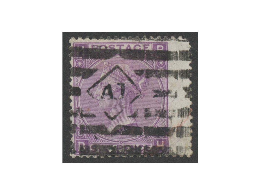 1867, 6P Viktoria, MiNr.30, razítkované, dv, kz