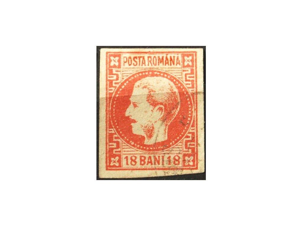 1868, 18B Karel, MiNr.20, razítkované, falzum