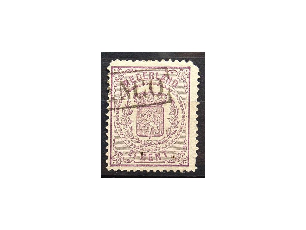 1869, 2 1/2C Znak, MiNr.18B, razítkované