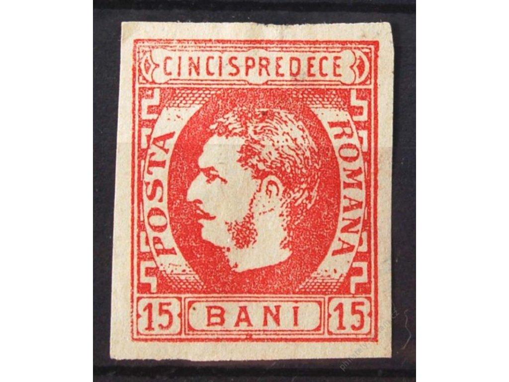 1869, 15B Karel, slušné střihy, těžká * , falzum