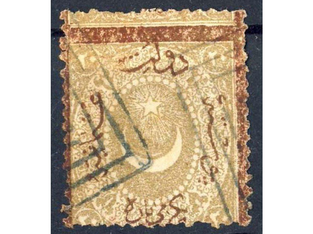 1869, 20Pa doplatní, MiNr.11Ab, razítkovaná