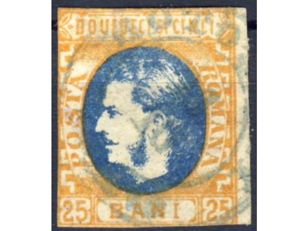 1869, 25B Karel, MiNr.24, razítkované