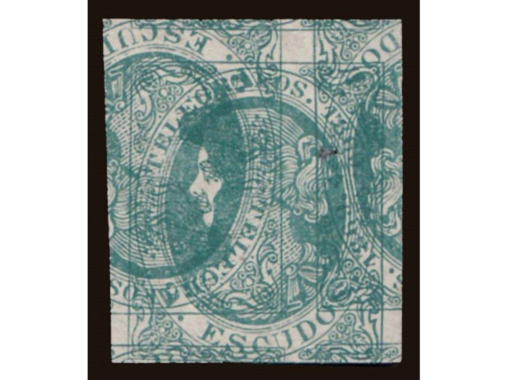 1869, 2R Isabella, telegrafní, ZT, násobný tisk, (*)
