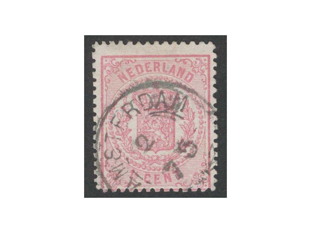 1869, 1 1/2C Znak, MiNr.16B, razítkované