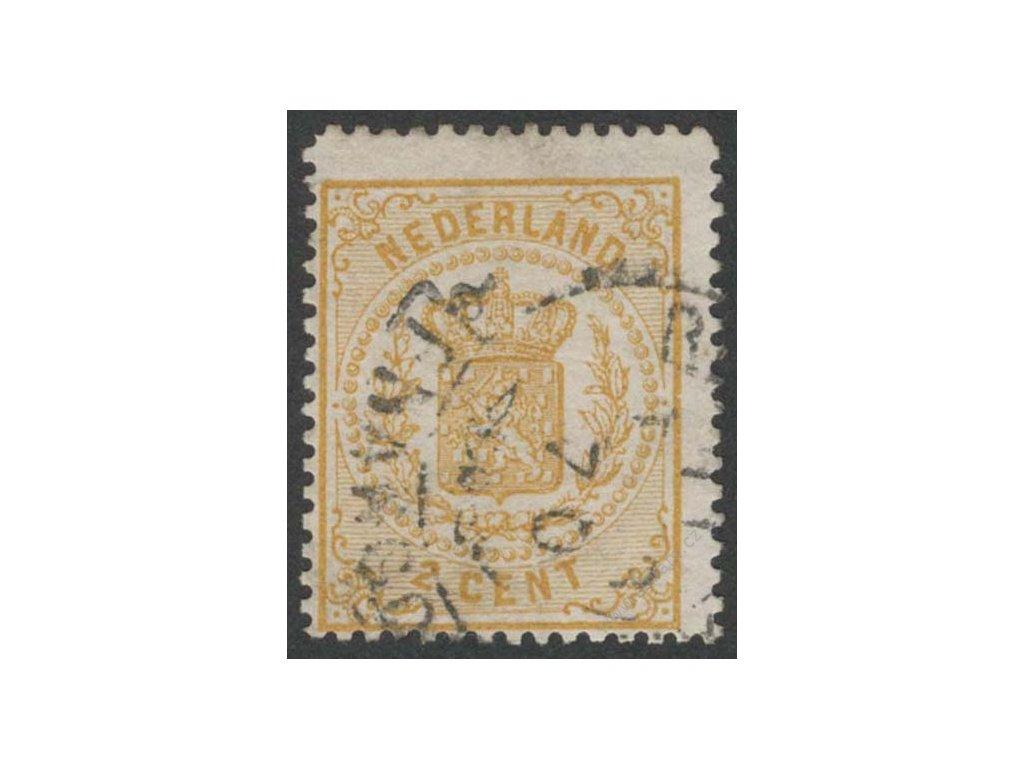 1869, 2C Znak, MiNr.17A, razítkované