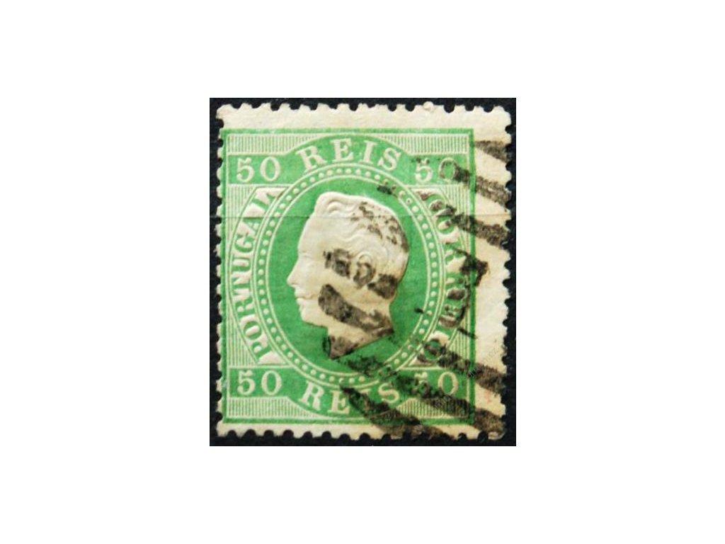 1870, 50R Pedro, MiNr.39, razítkovaná