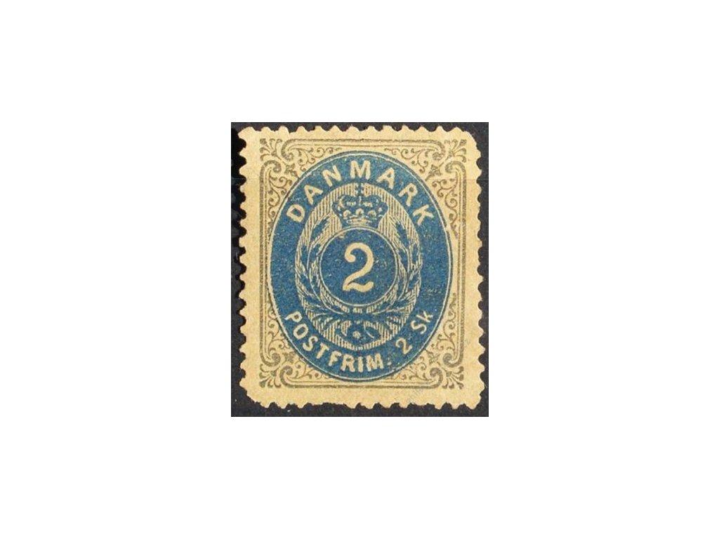 1870, 2Sk šedá/modrá, horší jakost, (*)