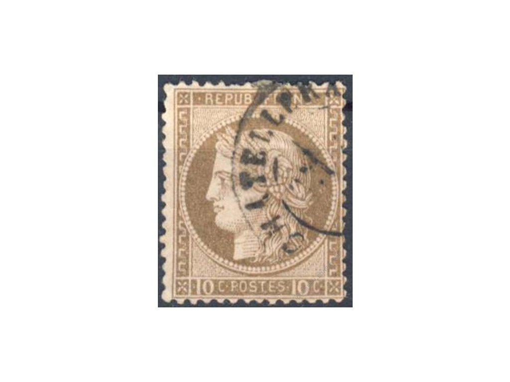 1870, 10C Ceres, MiNr.33, razítkované