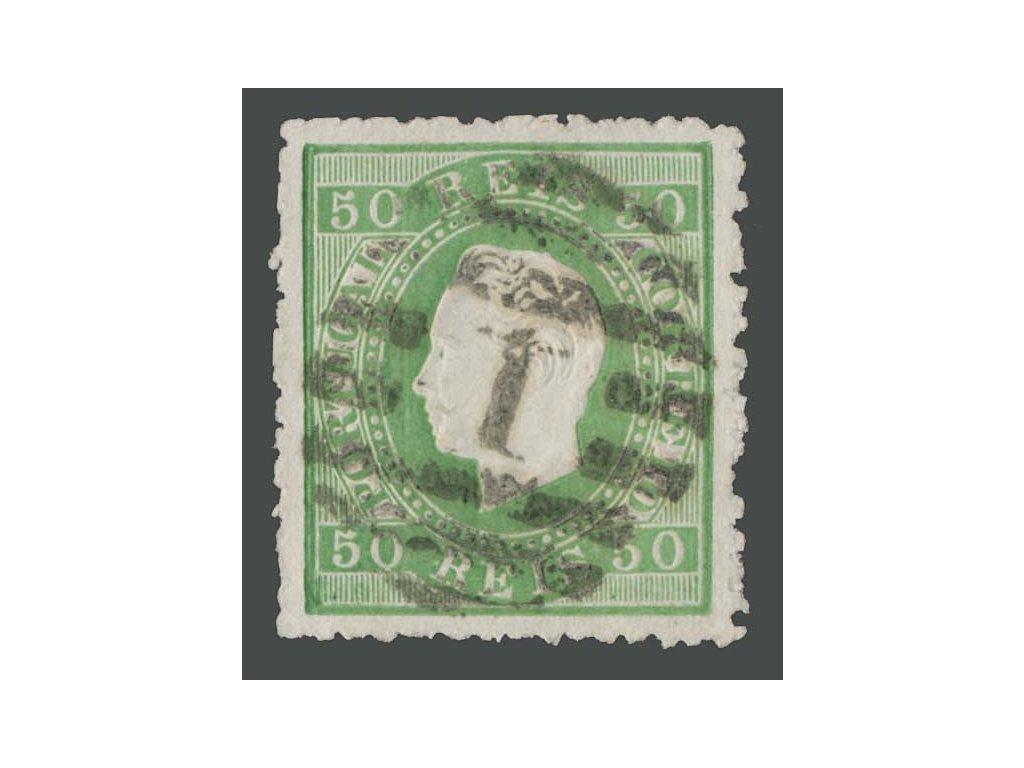 1870, 50R Luis, MiNr.39, razítkované, nalomený růžek