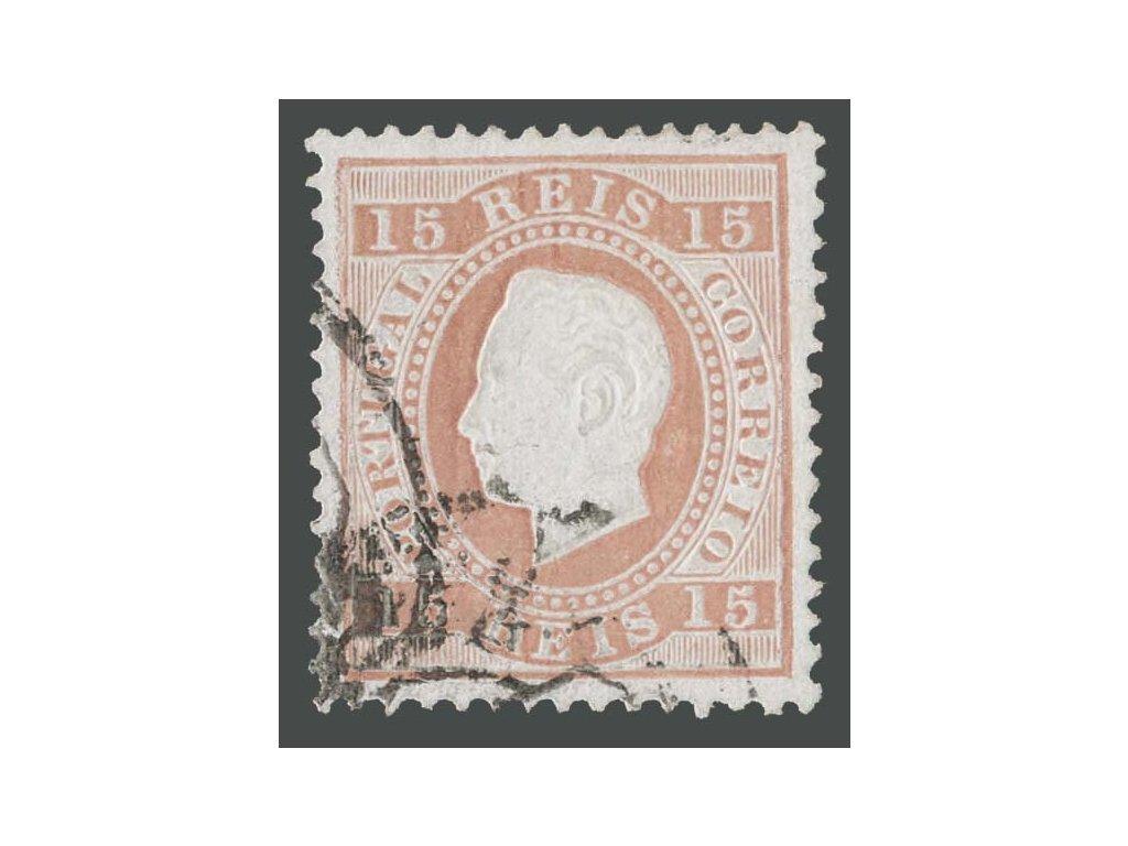 1870, 15R Luis, MiNr.36, razítkované