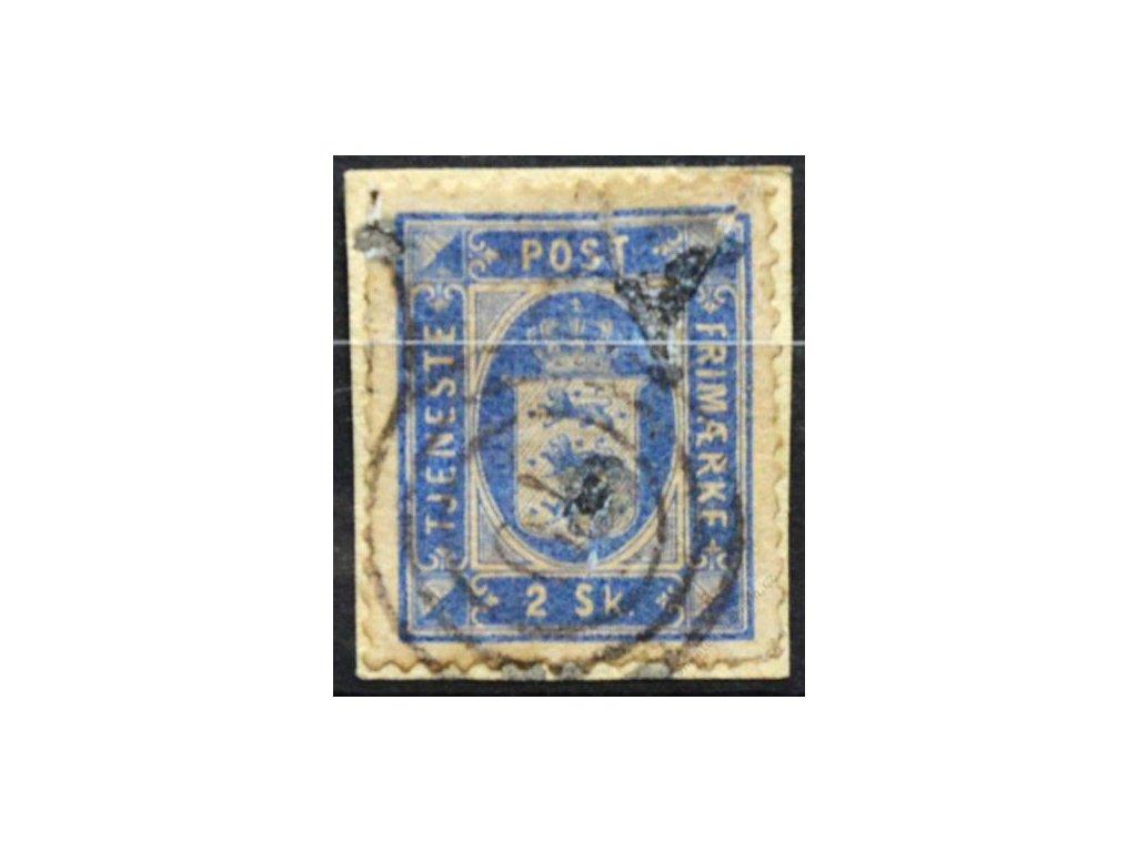 1871, 2S Znak, Dienstmarken, malý výstřižek, MiNr.1A