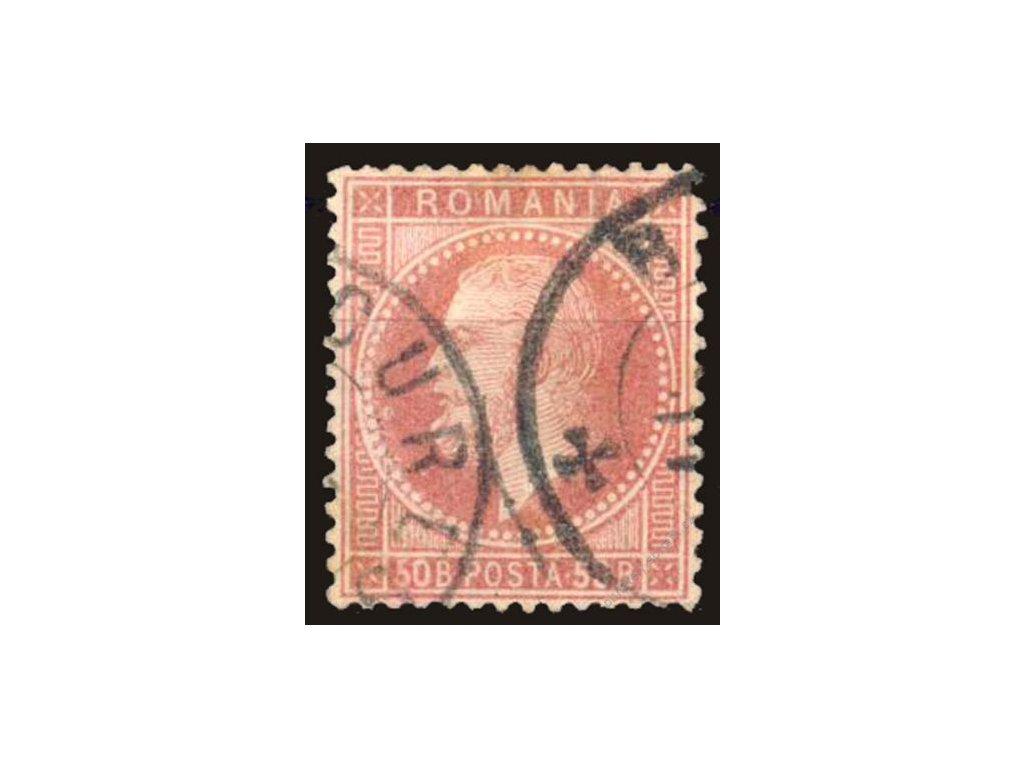 1872, 50B Karel, MiNr.42, razítkované