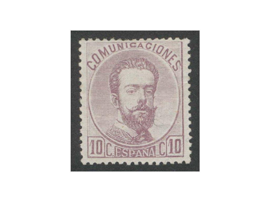 1872, 10C Amadeo, reparovaný lep, lehké vlomy