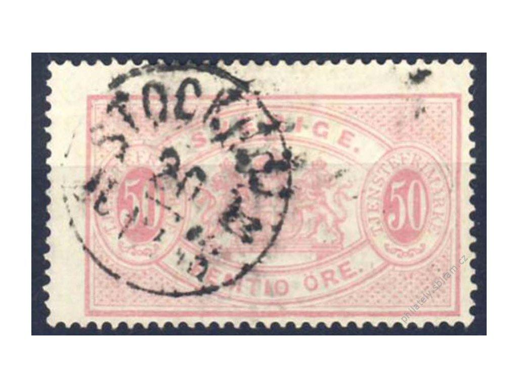 1874, 50Ö služební, Mi.70Euro, Nr.10A, razítkované