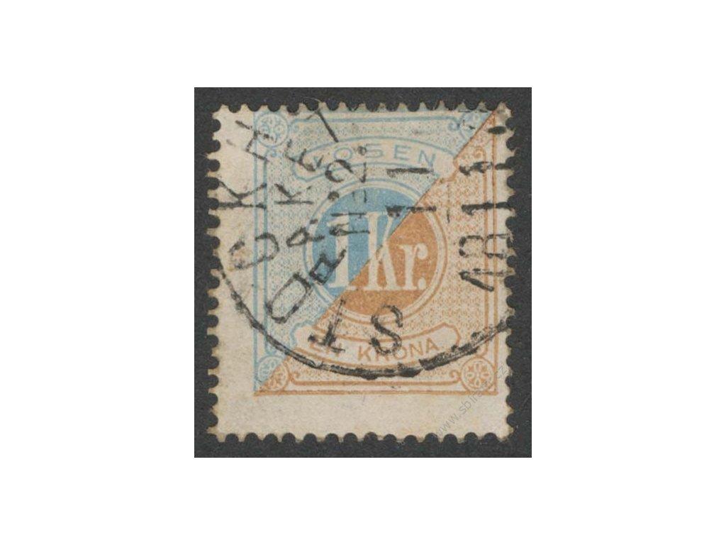 1874, 1Kr doplatní, MiNr.10A, razítkované