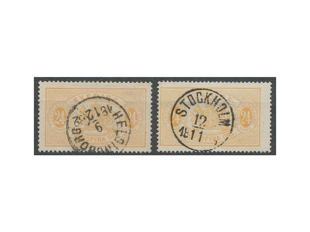 1874, 24Ö služební, L 13 a L 14, razítkované, dv