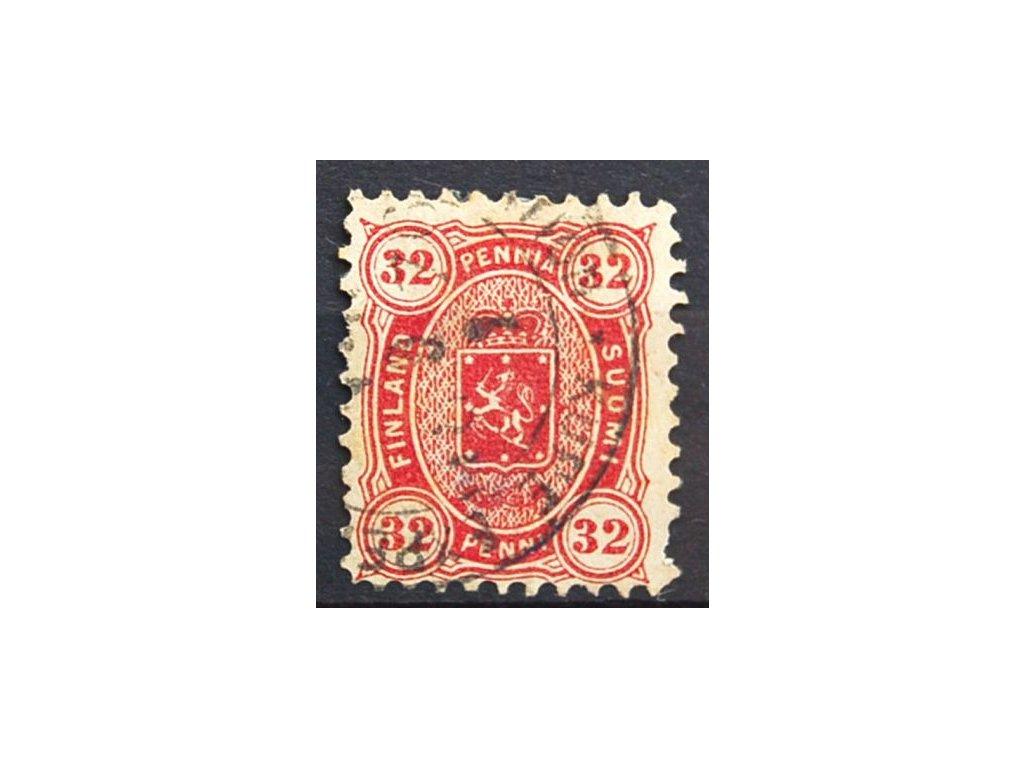 1875, 32P Znak, MiNr.18A, razítkované