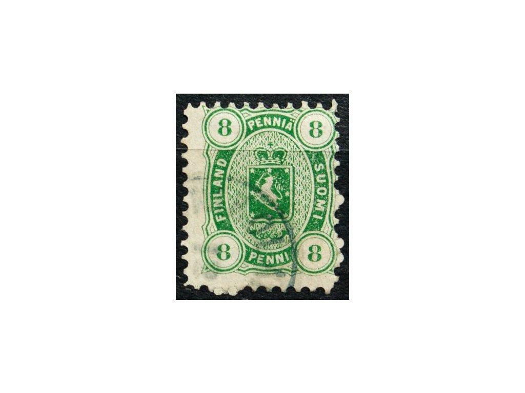 1875, 8P Znak, MiNr.14A, razítkovaná