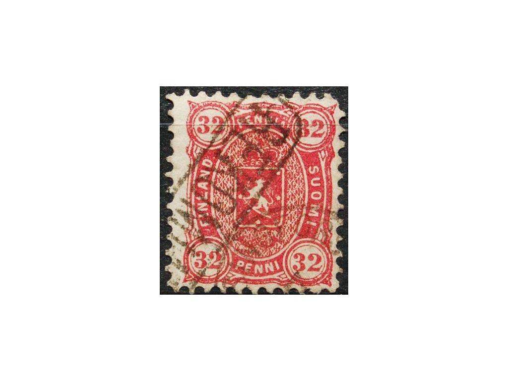 1875, 32P Znak, MiNr.18A, razítkovaná