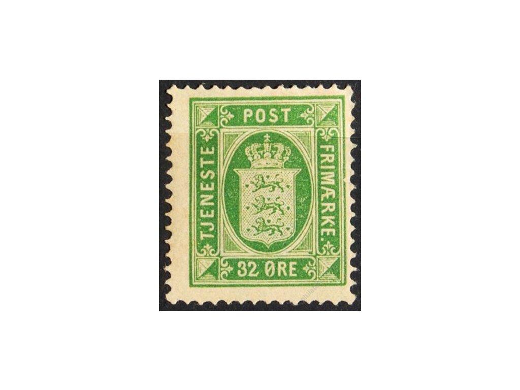 1875, 32Q služební, těžší * , MiNr.7Y