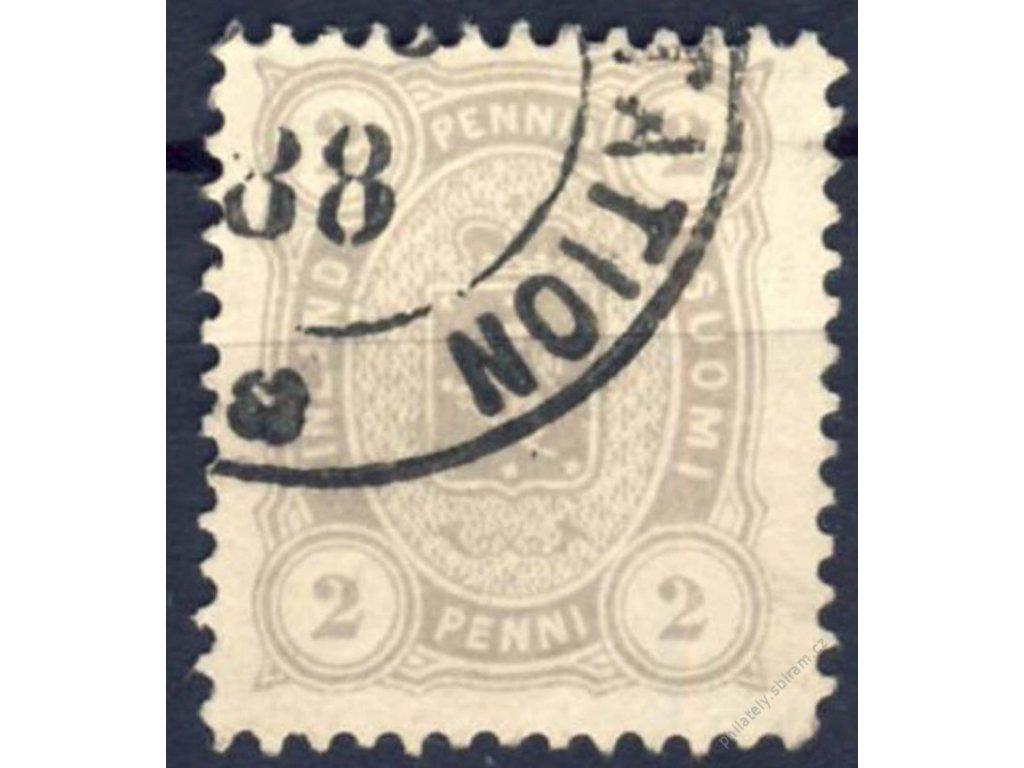 1875, 2P Znak, MiNr.12B, razítkované