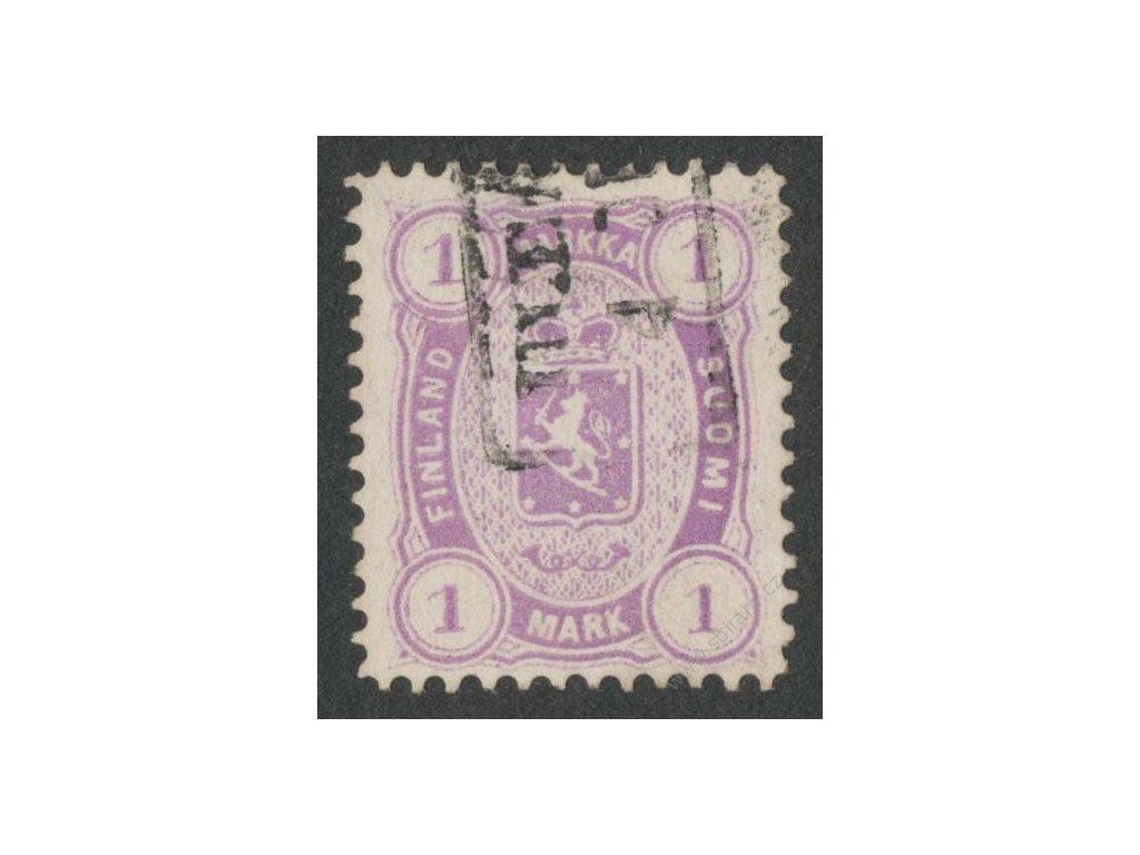 1875, 1M Znak, MiNr.19By, razítkované