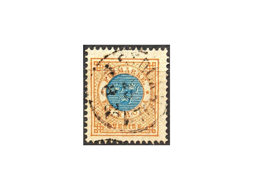 1878, 1Kr Znak, MiNr.27, razítkovaná