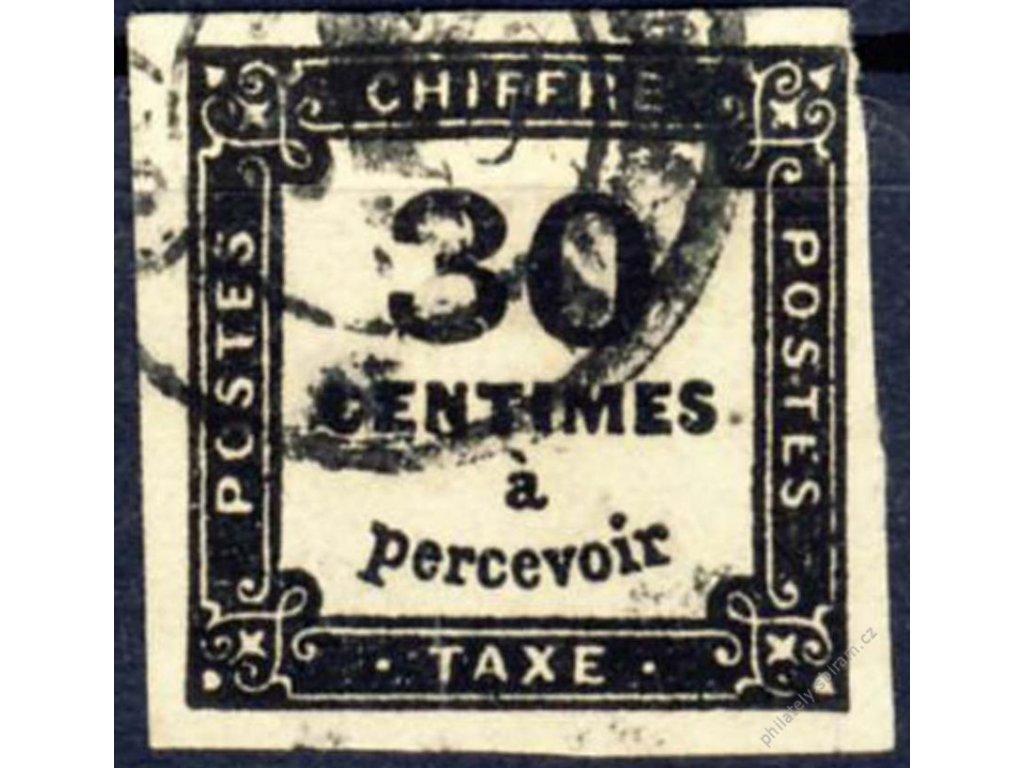 1878, 30C doplatní, Mi.120Euro, razítkované
