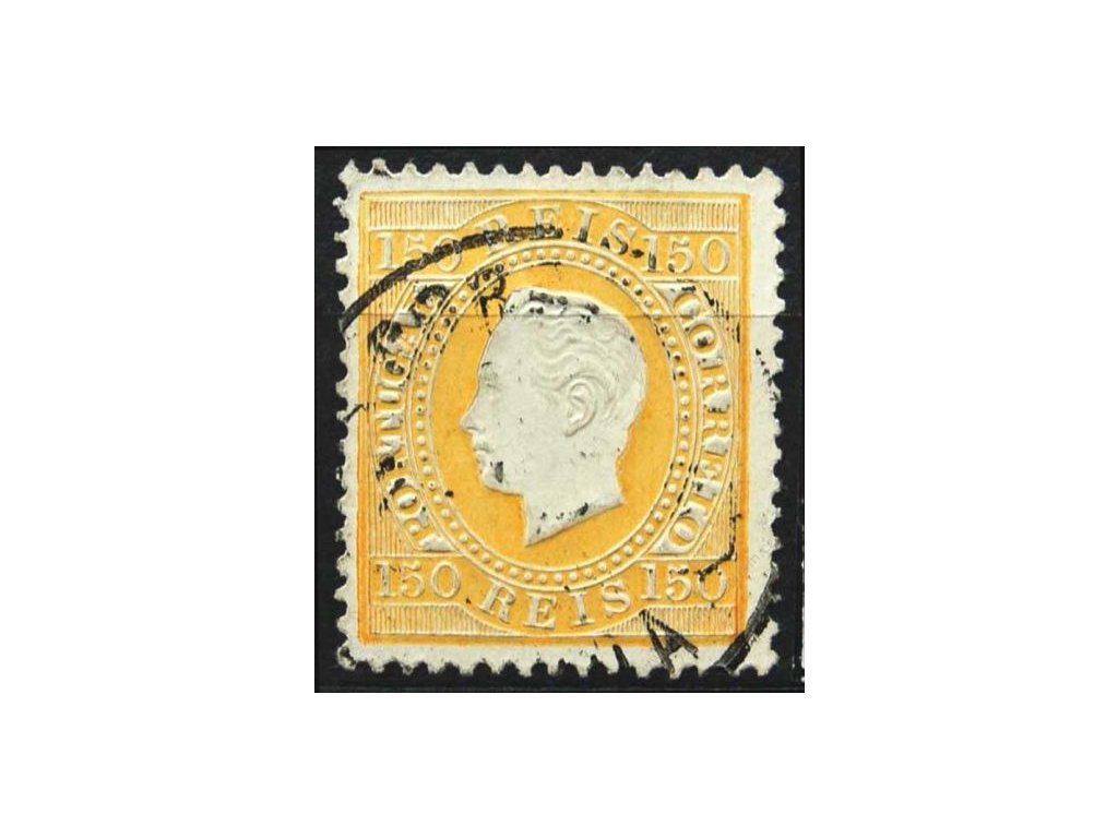 1879, 150R Luis, MiNr.49, razítkovaná