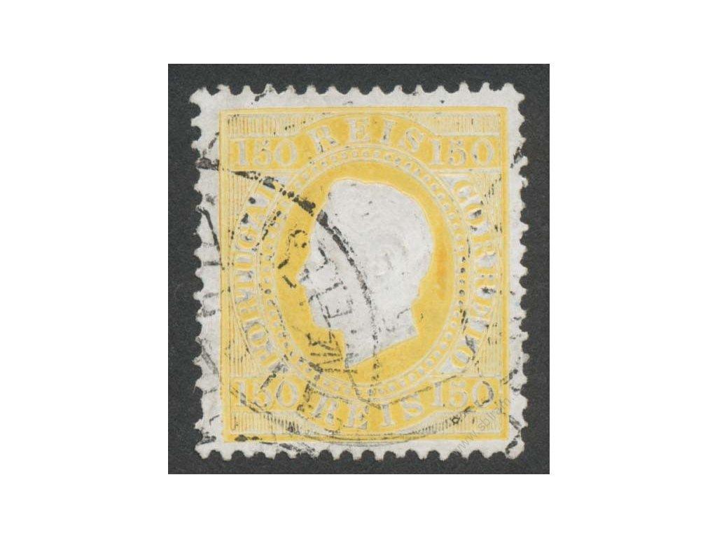 1879, 150R Luis, MiNr.49, razítkované